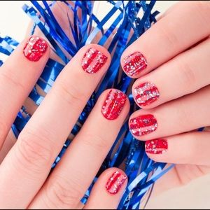 Color Street Nail Strips - American Cheer